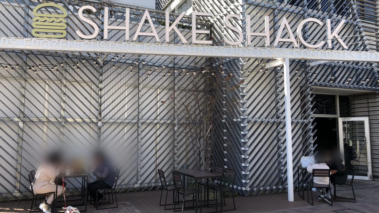 シェイクシャック テラスモール湘南店の外観